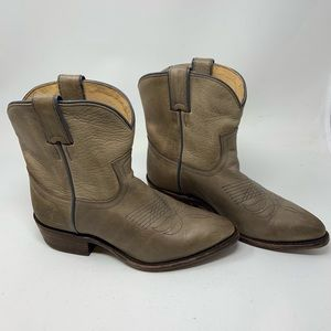 Frye Billy Short Pull On Boots Size 7 Gray